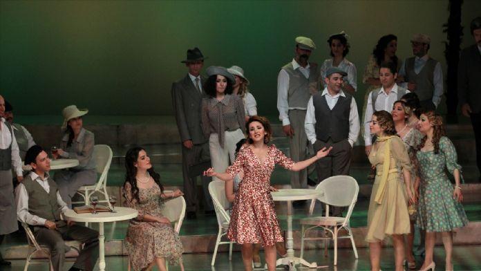 Donizetti'nin 'Aşk İksiri' Samsun'da sahnelendi