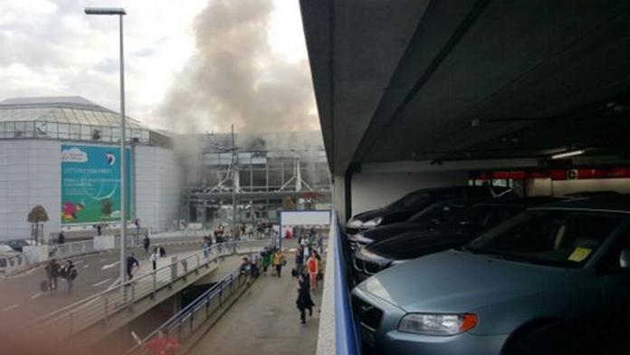 Brüksel havalimanında patlama