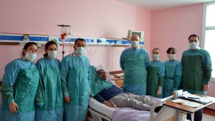 ADÜ'de AKUT Lösemili Hastaya Kök Hücre Nakli Yapıldı
