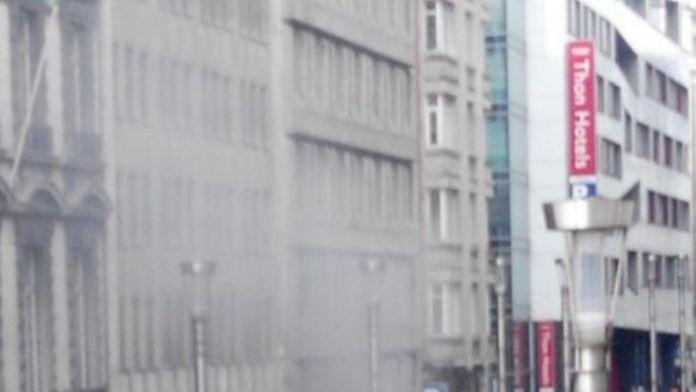 Brüksel'de Havalimanının Ardından Metroda Da Patlama