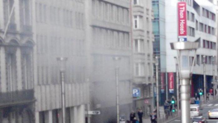 Brüksel'de İkinci Patlama!