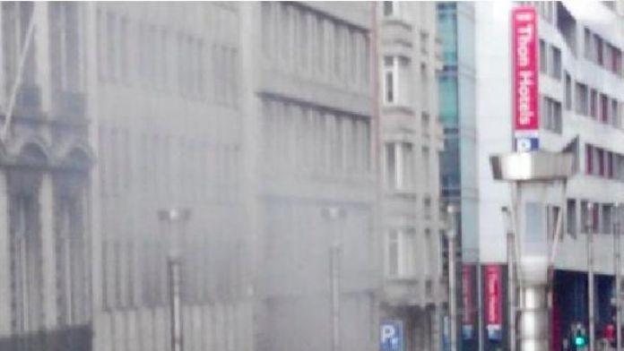 Brüksel'de ikinci patlama metro çıkışında meydana geldi