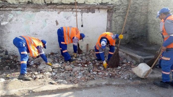 Altındağ'daki Okullarda Temizlik Zili Çaldı