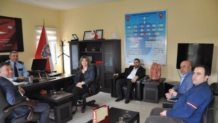 Satives'den Kapaklı İlçe Emniyet Müdürlüğüne Ziyaret