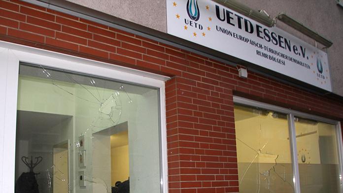 UETD Dinslaken şubesine saldırı