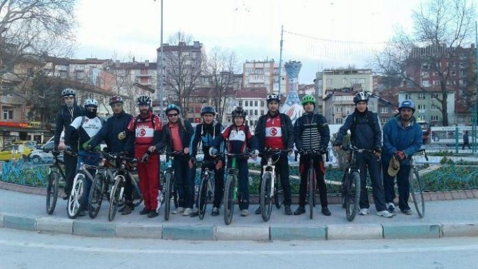 Eskişehirli Bisikletçiler Kütahya'da