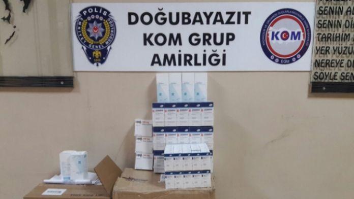 Terör örgütüne gidecek ilaçlar ele geçirildi