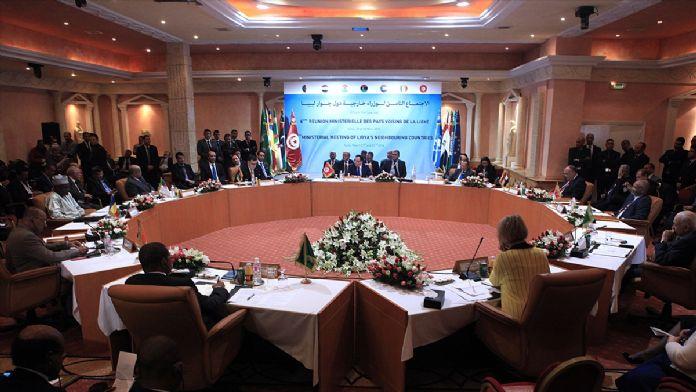 Libya'ya komşu ülkeler dışişleri bakanları toplantısı