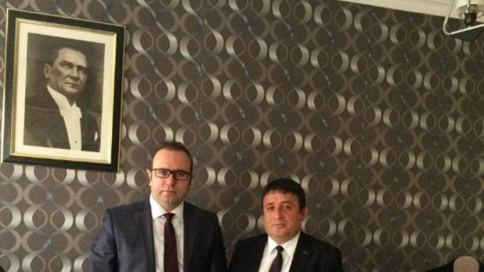 Asbaşkan Aygün'den Vali Yardımcısı Altun'a Ziyaret