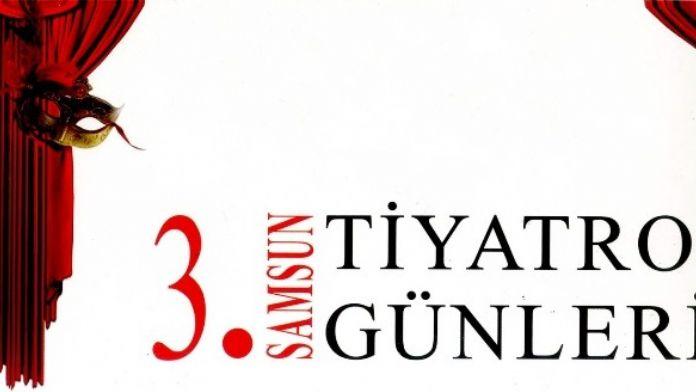 '3. Samsun Tiyatro Günleri' Başladı