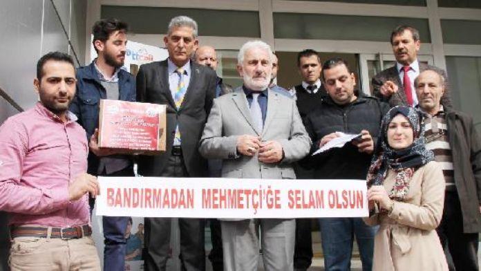 Bandırma'dan Mehmetçik'e 3 bin 500 mektup