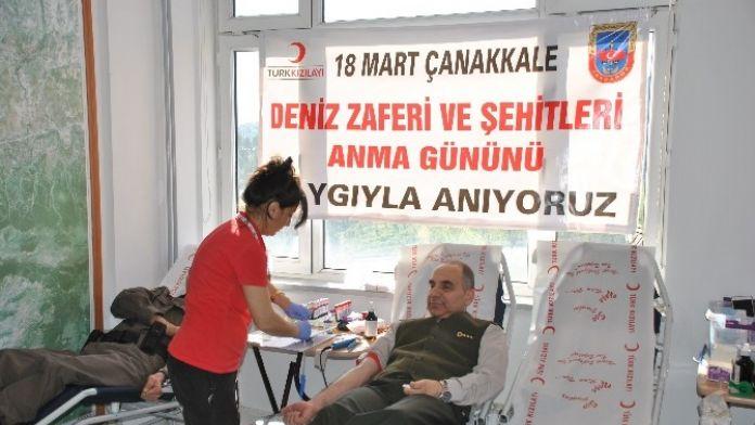 Jandarma'dan Kan Bağışı