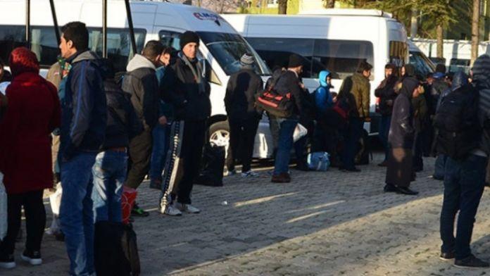 33 kaçak göçmen yakalandı