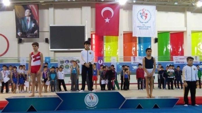 Jimnastikte Malatya Karması Üçüncü Oldu