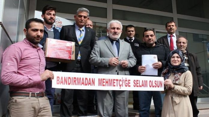 Bandırma'dan Mehmetçiklere Bin Mektup