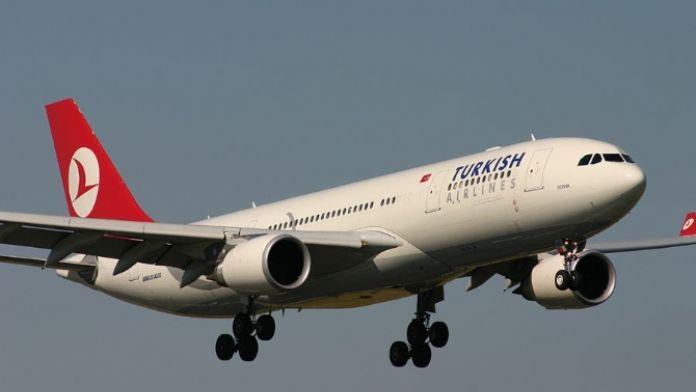 Havada hareketli dakikalar: Pilot zamanla yarıştı