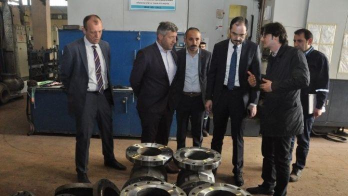 Başkan Ayaz Vanasan'ı Ziyaret Etti