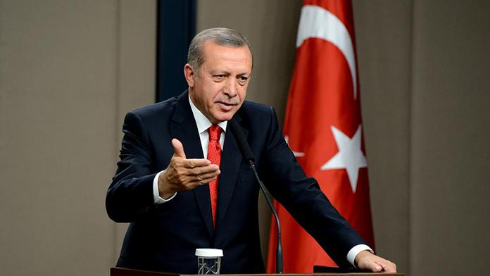 Cumhurbaşkanı Erdoğan'dan Brüksel tweeti