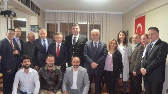 KTÜ Rektörü Baykal'ın Mühendislik Odaları'na Ziyaretleri Sürüyor