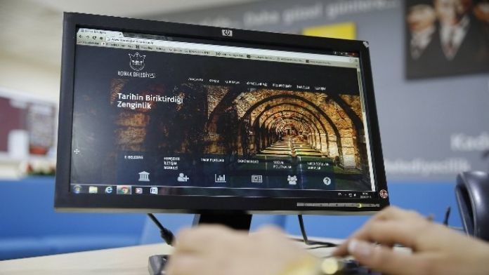 Konak Belediyesi İnternet Sitesini Yeniledi