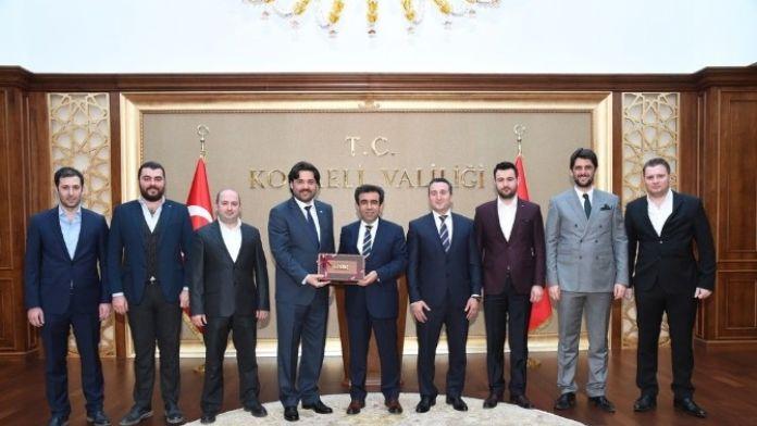 Atılımcı İşadamları Derneği, Vali Güzeloğlu'nu Ziyaret Etti