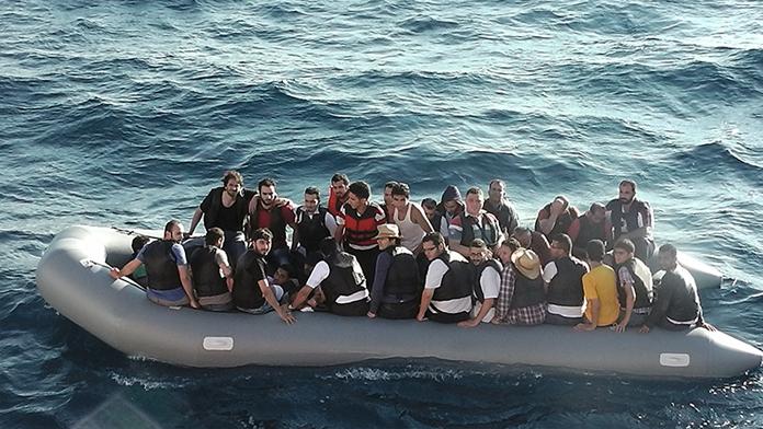 İki Günde 9 İnsan Kaçakçısı Yakalandı