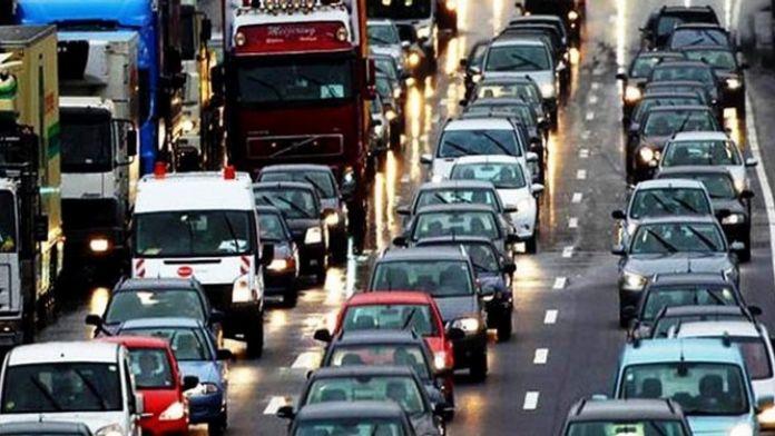 Aydın'da Araç Sayısı 389 Bin 463 Oldu