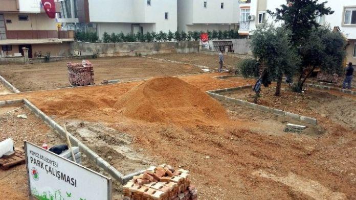 Kepez'e 4 Yeni Park