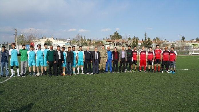 Samsat'ta Futbol Turnuvası Düzenlendi