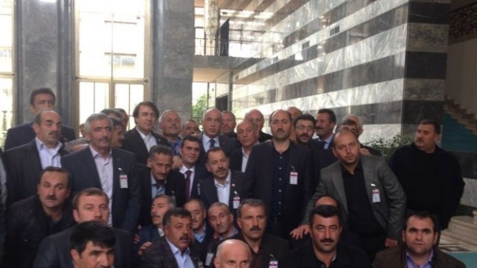 AK Parti Grup Toplantısına Erzurum Dopingi