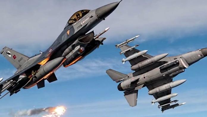 Kuzey Irak ve Şemdinli kırsalındaki PKK'ya ait hedeflere hava harekatı