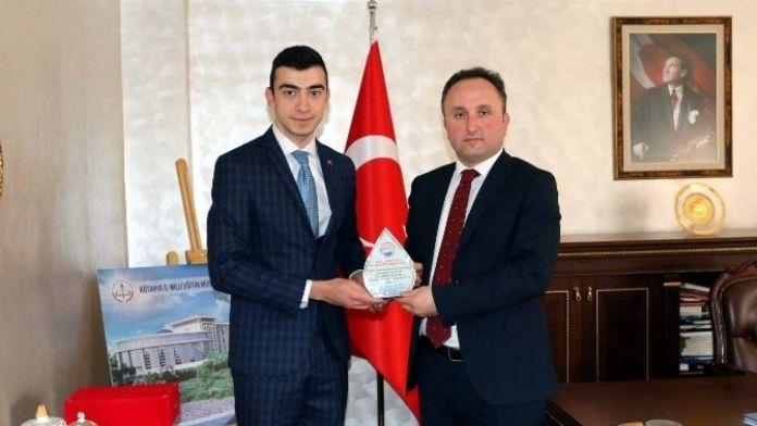 Alparslan Dirçer'den Esen'e Veda Ziyareti
