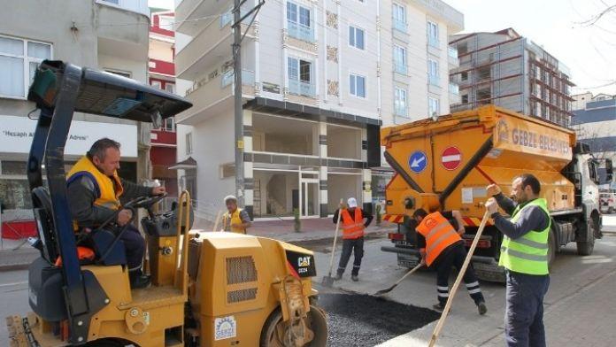 Gebze'de Asfalt Çalışmaları Başladı