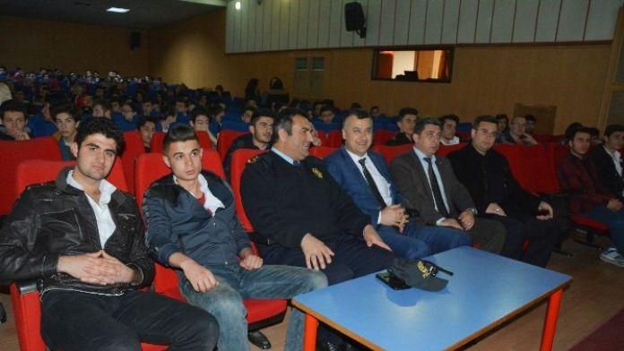 Bafra'da Öğrencilere 'Terör' Semineri
