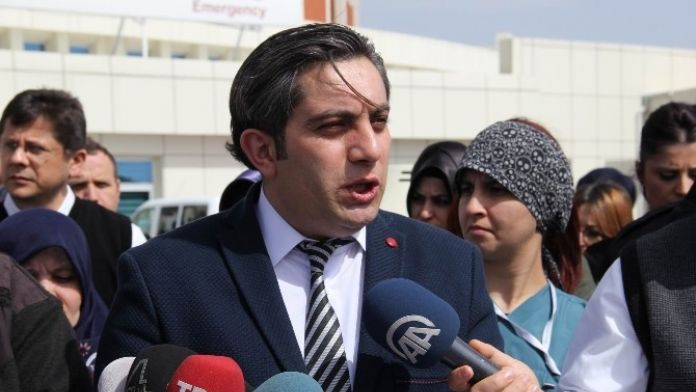 Sivas'ta Taşeron İşçilerin Kadro Sevinci