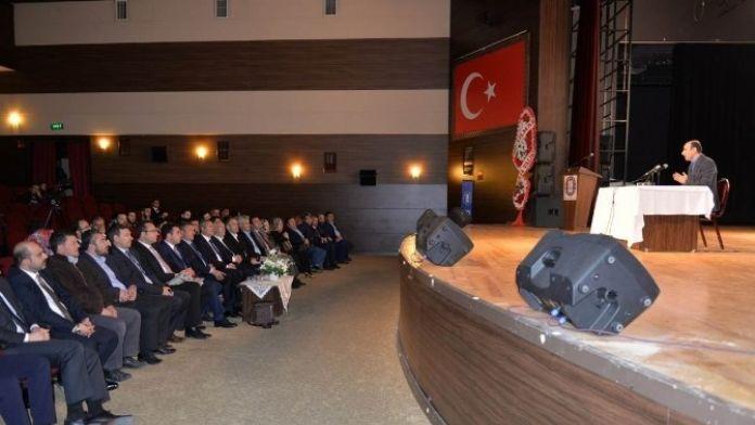 Kütahya'da 'Ortadoğu'da Yaşanan Gelişmeler Ve Türk Dış Politikası' Konulu Konferans