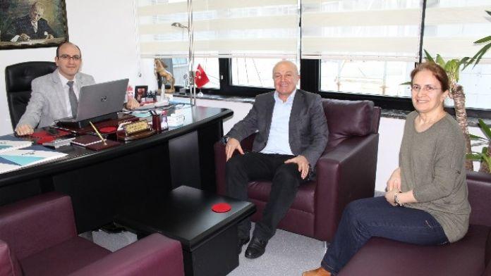 Türkiye Emekliler Derneği'nden Adatıp Hastanesine Ziyaret