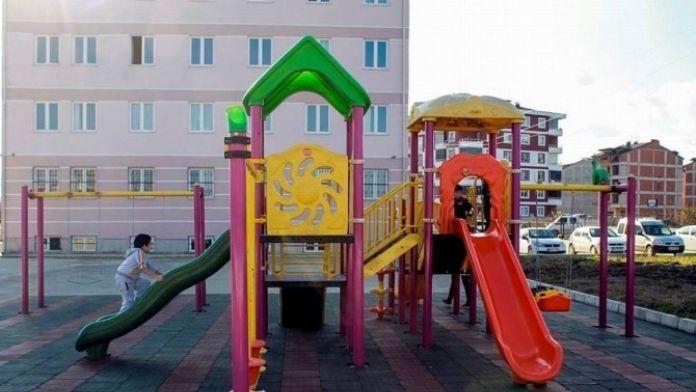 Özel Eğitim Okuluna Oyun Parkı