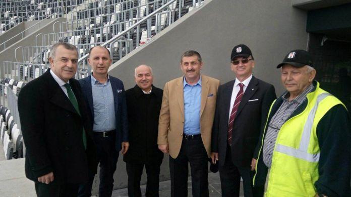 Vodafone Arena'ya sürpriz ziyaret