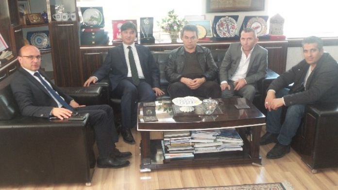 Ünal Küçükyılmaz'dan, Mehmet Oral'a Ziyaret
