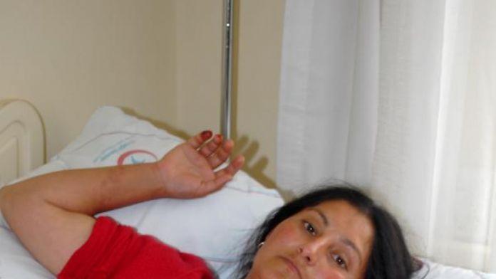 Balığın zehirlediği kadın hastanede tedaviye alındı