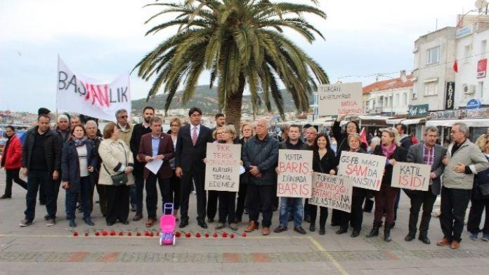 Foça CHP İlçe Örgütünden Terör Açıklaması