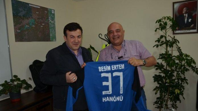 Hanönüspor'a Yeni Sponsor