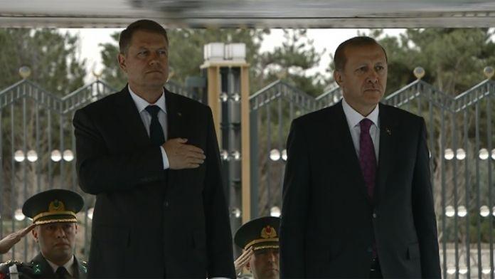 Romanya Cumhurbaşkanı Beştepe'de