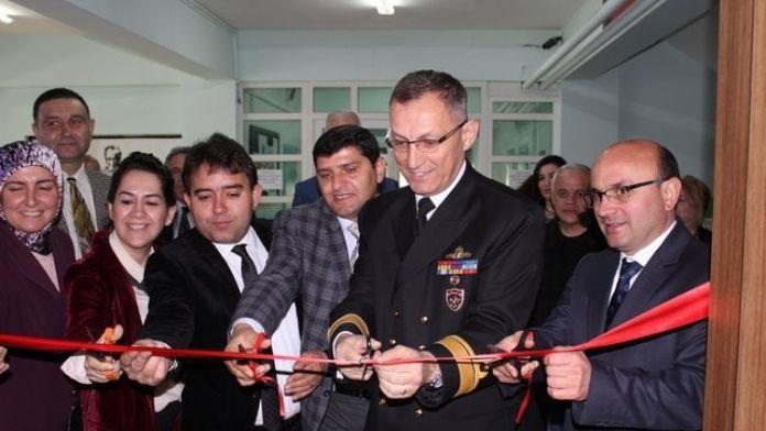 Piyalepaşa İlk Ve Ortaokulu Konferans Salonu Açıldı