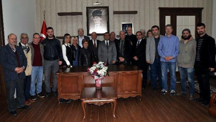 Bandırma Kaymakamlığı'nda Basın Odası Açıldı