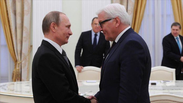 Almanya Dışişleri Bakanı Steinmeier Rusya'da