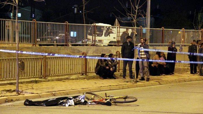 Kazadan geriye bisikleti kaldı