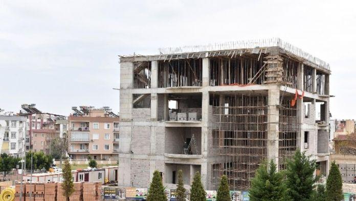 Belediye Sağlık Merkezi Yükseliyor