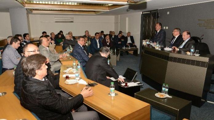 DTO Mart Ayı Meclis Toplantısı Yapıldı